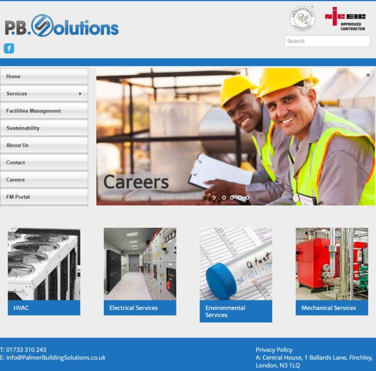 P.B.Solutions – Web Design